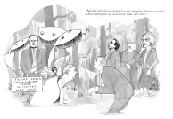 "illustrations from the new book ""Meet John Dough, Superhero: A Political Fantasy"" by Lucy Bell W. Jarka-Sellers"