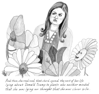"""illustrations from the new book """"Meet John Dough, Superhero: A Political Fantasy"""" by Lucy Bell W. Jarka-Sellers"""